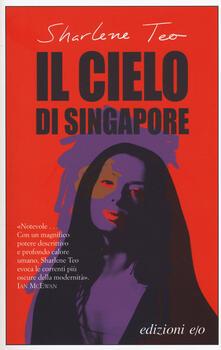 Il cielo di Singapore - Sharlene Teo - copertina