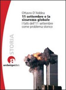 11 settembre e la sicurezza globale. I fatti dell'11 settembre come problema storico