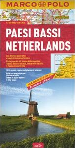 Paesi Bassi 1:300.000. Ediz. multilingue