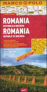Romania, Repubblica Moldova 1:800.000. Ediz. multilingue