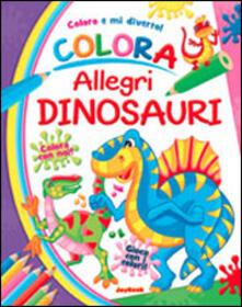 Squillogame.it Colora allegri dinosauri Image
