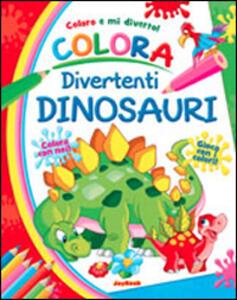 Colora divertenti dinosauri