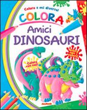 Colora allegri dinosauri