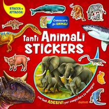 Osteriacasadimare.it Tanti animali stickers. Con adesivi Image