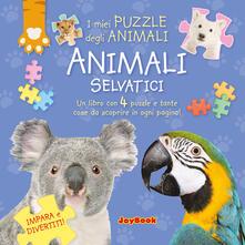 Milanospringparade.it Animali selvatici. Libro puzzle Image