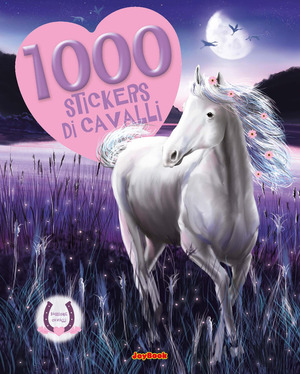 1000 stickers di cavalli