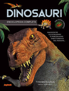 Enciclopedia dei dinosauri - copertina
