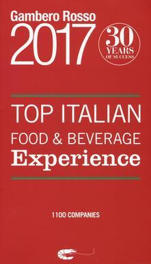 Top italian food & beverage experience 2017.pdf