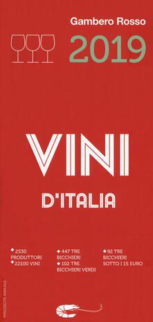 Winniearcher.com Vini d'Italia del Gambero Rosso 2019 Image