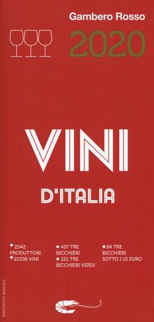 Voluntariadobaleares2014.es Vini d'Italia del Gambero Rosso 2020 Image