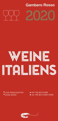 Vini d'Italia del Gambero Rosso 2020. Ediz. tedesca - copertina
