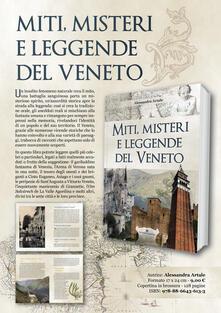 Miti, misteri e leggende del Veneto - Alessandra Artale - copertina