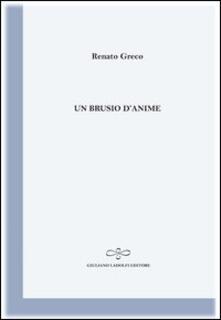 Un brusio d'anime - Renato Greco - copertina