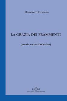 La grazia dei frammenti (poesia scelte 2000-2020) - Domenico Cipriano - copertina