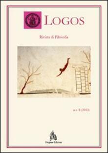 Logos. Rivista di filosofia (2013). Vol. 8 - copertina