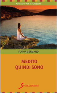 Medito quindi sono - Flavia Germano - copertina