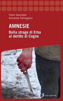 Amnesie. Dalla strage di Erba al delitto di Cogne - Fabio Sanvitale,Armando Palmegiani - copertina