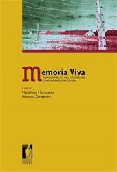 Memoria viva. Responsabilità del ricordare e partecipazione civica