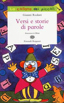 Festivalpatudocanario.es Versi e storie di parole. Ediz. illustrata Image