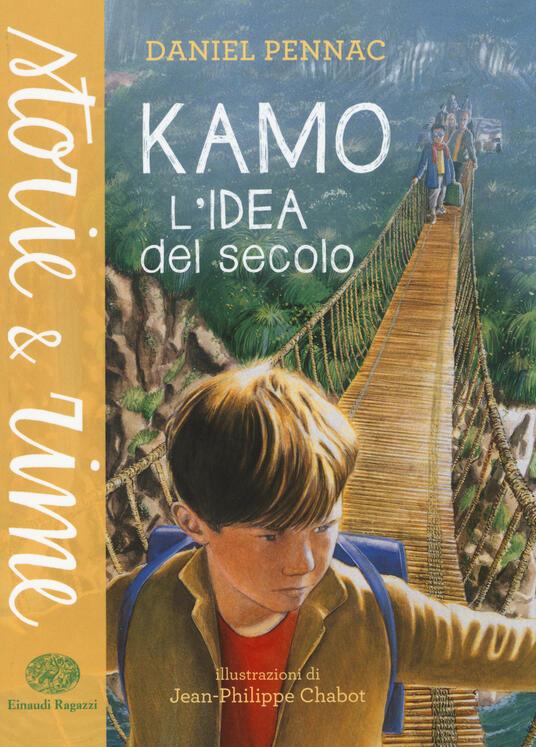 Kamo. L'idea del secolo - Daniel Pennac - copertina