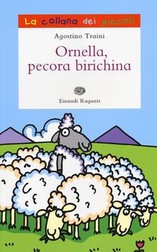 Ornella pecora birichina - Agostino Traini - copertina