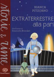 Extraterrestre alla pari - Bianca Pitzorno - copertina