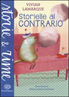 Storielle al contrario - Vivian Lamarque - copertina