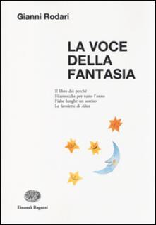La voce della fantasia - Gianni Rodari - copertina