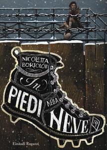 In piedi nella neve - Nicoletta Bortolotti - copertina