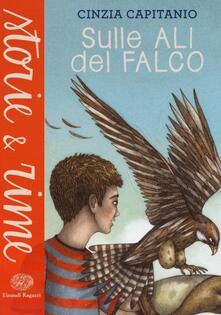 Sulle ali del falco - Cinzia Capitanio - copertina
