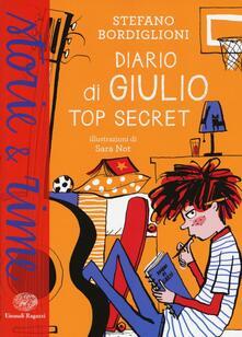 Diario di Giulio. Top secret - Stefano Bordiglioni - copertina