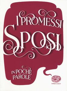 I promessi sposi da Alessandro Manzoni - Davide Morosinotto - copertina