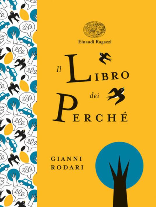 Il libro dei perché - Gianni Rodari - copertina