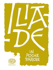 Iliade da Omero - Roberto Piumini - copertina