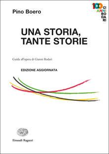 Una storia, tante storie. Guida all'opera di Gianni Rodari - Pino Boero - copertina