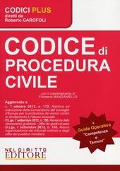Codice di procedura civile-Competenza e termini