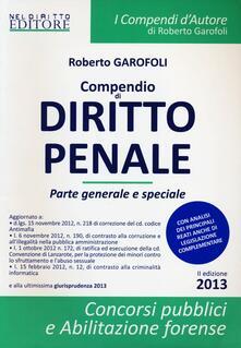 Voluntariadobaleares2014.es Compendio di diritto penale. Parte generale-Compendio di diritto penale. Parte speciale Image