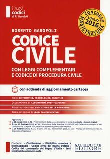 Codice civile con leggi complementari e codice di procedura civile. Concorso magistratura. Con aggiornamento online.pdf