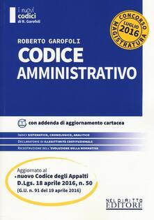 Codice amministrativo. Concorso magistratura. Con aggiornamento online.pdf
