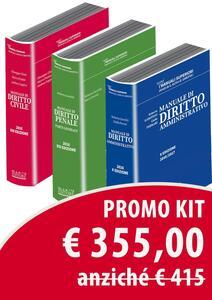 Manuale di diritto civile-Manuale di diritto penale-Manuale di diritto amministrativo