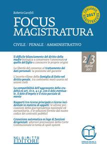 Focus magistratura. Concorso magistratura 2017: Civile, penale, amministrativo. Vol. 2