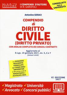 Winniearcher.com Compendio di diritto civile (diritto privato) con analisi completa dei singoli contratti. Con aggiornamento online Image