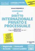 Libro Compendio di diritto internazionale privato e processuale. Con Contenuto digitale per download e accesso on line Antonio Pasquariello
