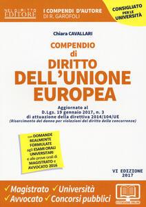Compendio di diritto dell'Unione Europea. Aspetti istituzionali e politiche UE. Con Contenuto digitale per download e accesso on line
