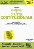 Libro Compendio di diritto costituzionale Petra Gay