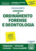 Libro Compendio di ordinamento forense e deontologia   Federica Gaia Corbetta