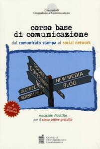 Corso base di comunicazione dal comunicato stampa ai social network