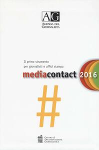 Agenda del giornalista 2016. Media contact