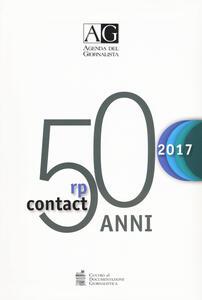 Agenda del giornalista 2017. Rp contact
