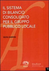 Il sistema di bilancio consolidato per il gruppo pubblico locale